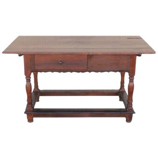 18Th Century Pennsylvania Walnut Tavern Table For Sale