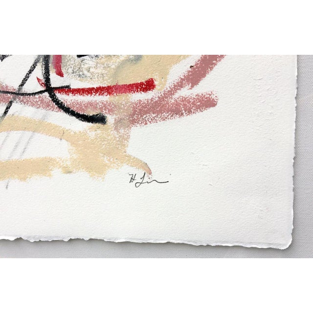 Abstract Polo Player #5 Abstract Drawing For Sale - Image 3 of 4