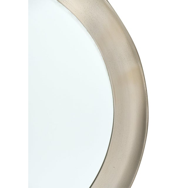 Glass Vintage French Mid-Century Mirror For Sale - Image 7 of 11