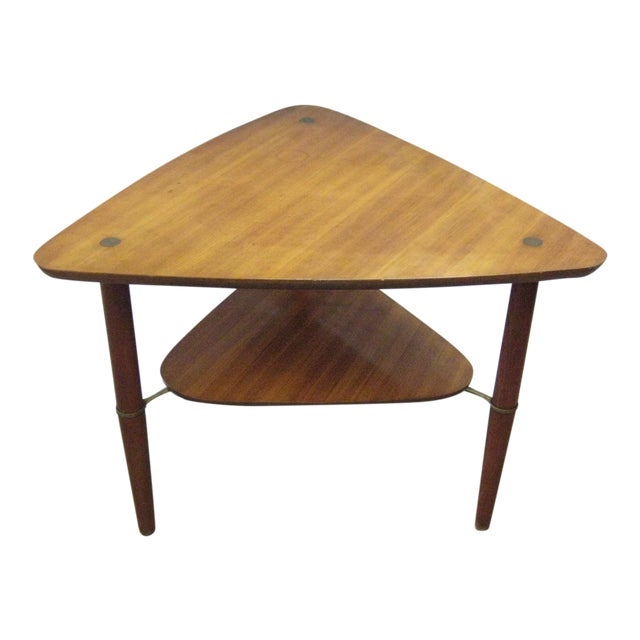 Kresten Buch Danish Modern Guitar Pick Side Table For Sale
