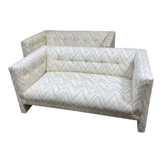 1970s Contemporary Loveseats - a Pair For Sale