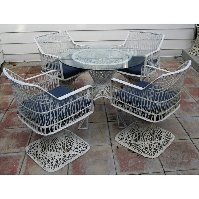 Vintage Spun Fiberglass Russell Woodard Dining Set For Sale - Image 9 of 9