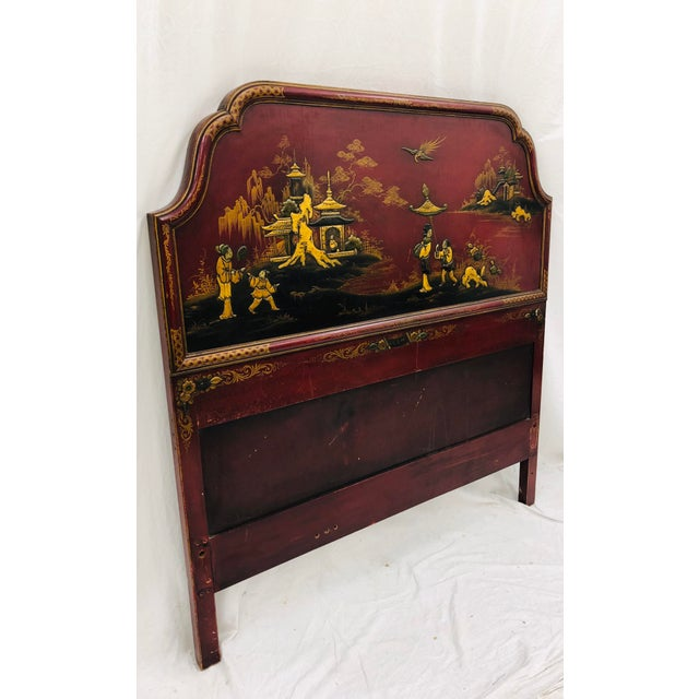Antique Chinoiserie Bed For Sale In Raleigh - Image 6 of 13