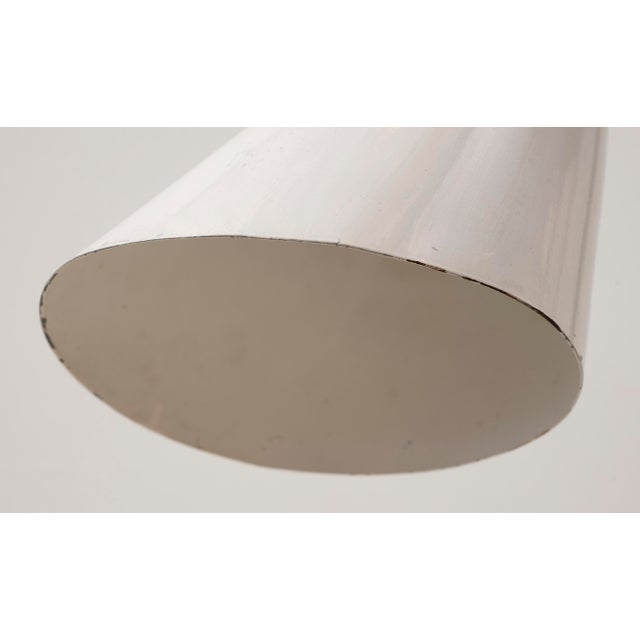 White Arne Jacobsen Early Floor Lamp for Louis Poulsen, Denmark, 1929 For Sale - Image 8 of 10