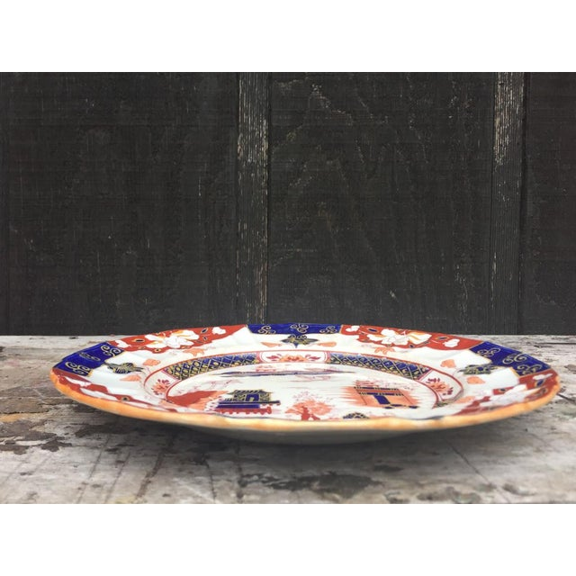White Mason's Ironstone England Plate For Sale - Image 8 of 8