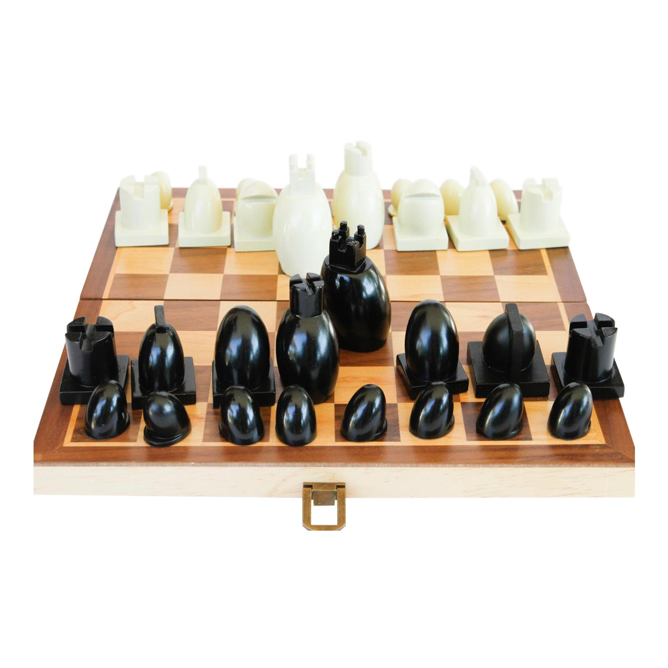 Famed Architect Michael Graves Modern Chess Set 33 Pieces Chairish