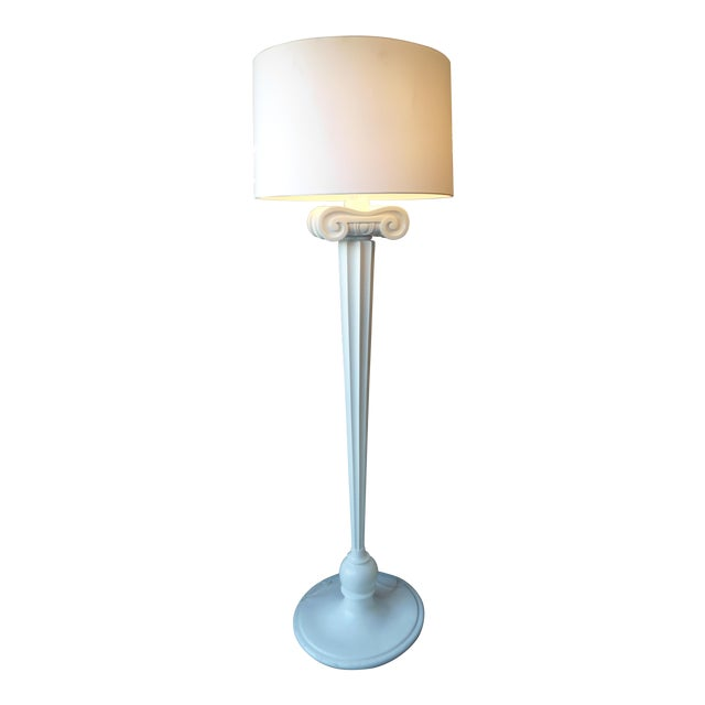 Eden Roc White Floor Lamp - Image 1 of 3