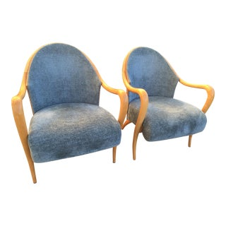 Vintage Italian Side Chair -a Pair For Sale