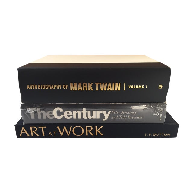 Vintage Black Books - Set of 3 - Image 1 of 7