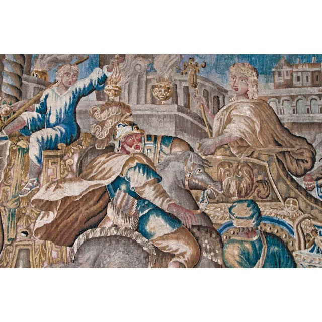 Campaign Flemish Tapestry of Caesar returning to Rome For Sale - Image 3 of 9