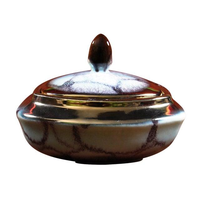Dumler & Breiden Mid-Century Lidded Candy Dish - Image 1 of 8
