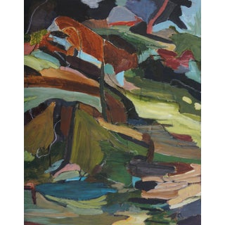 "Laurie MacMillan ""Fractures and Folds"" Abstract Landscape For Sale"