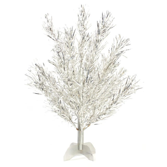 1950s Aluminum Tabletop Christmas Tree - Image 1 of 3