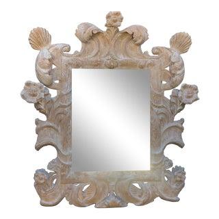 18th C Style Italian Baroque Rococo Mirror For Sale