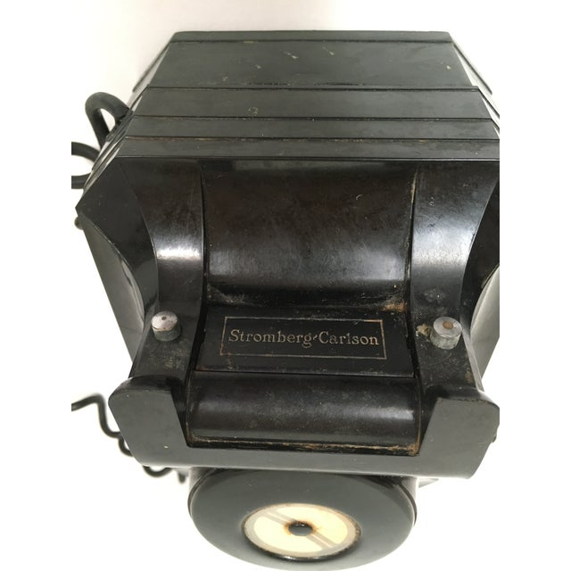 Stromberg Carlson Black Bakelite Crank Telephone - Image 4 of 8