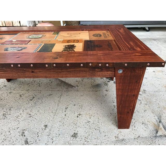 Cigar Box Coffee Table - Image 9 of 11