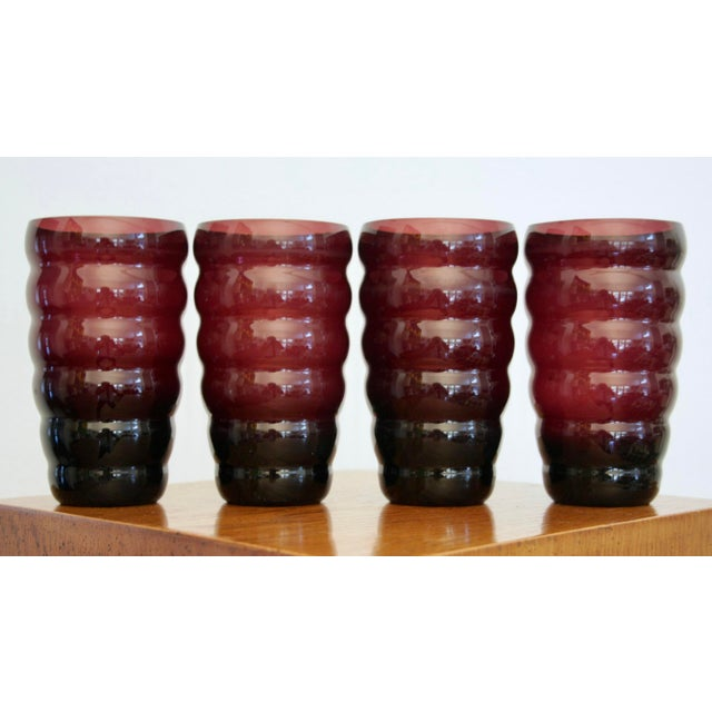 Postmodern Bubble Vases - Set of 4 For Sale In Dallas - Image 6 of 6