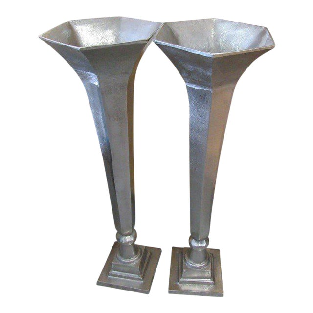 Arthur Court Vases - A Pair - Image 1 of 7