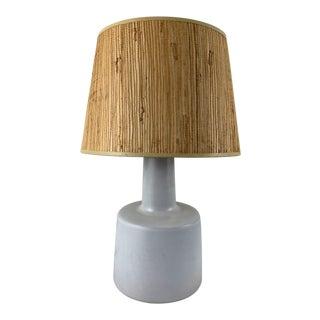 Vintage Mid-Century Martz Ceramic Table Lamp For Sale