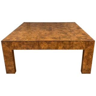 Widdicomb Elm Burl Coffee Table