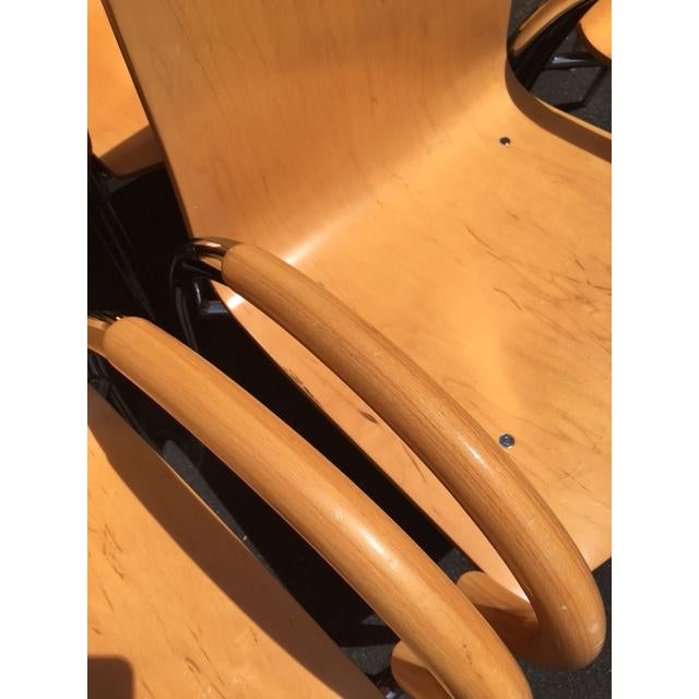 Lowenstein Bentwood & Chrome Dining Chairs - Set of 6 For Sale In New York - Image 6 of 9