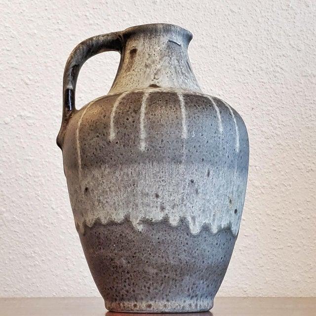 Gray E S Keramik Lava Glaze Jug Vase For Sale - Image 10 of 10