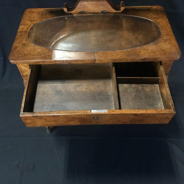 Mid 19th Century French Walnut Dressing Table For Sale - Image 10 of 13
