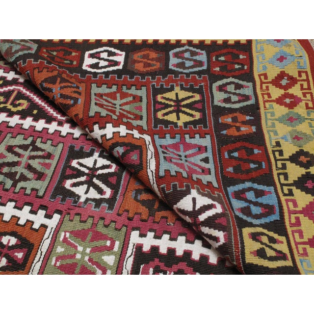 Superb Antique Bayburt Kilim For Sale - Image 10 of 10