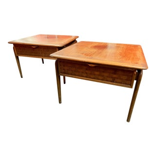 Mid Century Modern Lane Perception End Tables - A Pair For Sale