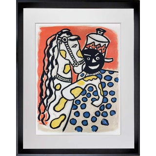 1950s Vintage Fernand Leger Limited Edition Original Lithograph Print For Sale