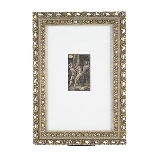 Albrecht Durer The Flagellation 16th C. Engraving For Sale