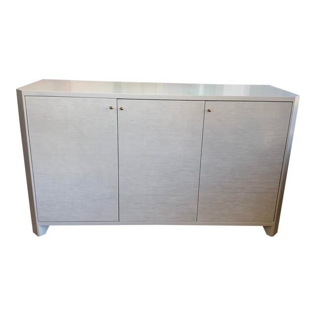 Modern Bone White Buffet From Made Goods For Sale