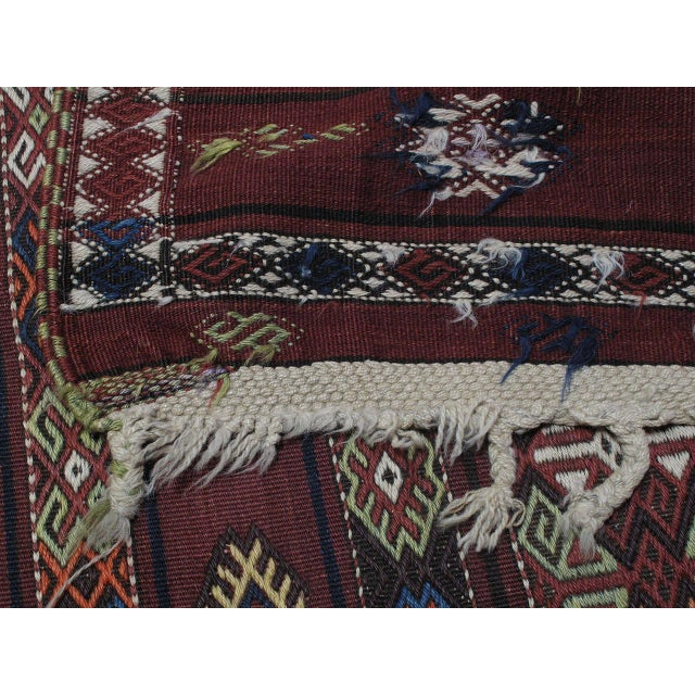 Kagizman Kilim Runner For Sale - Image 9 of 9
