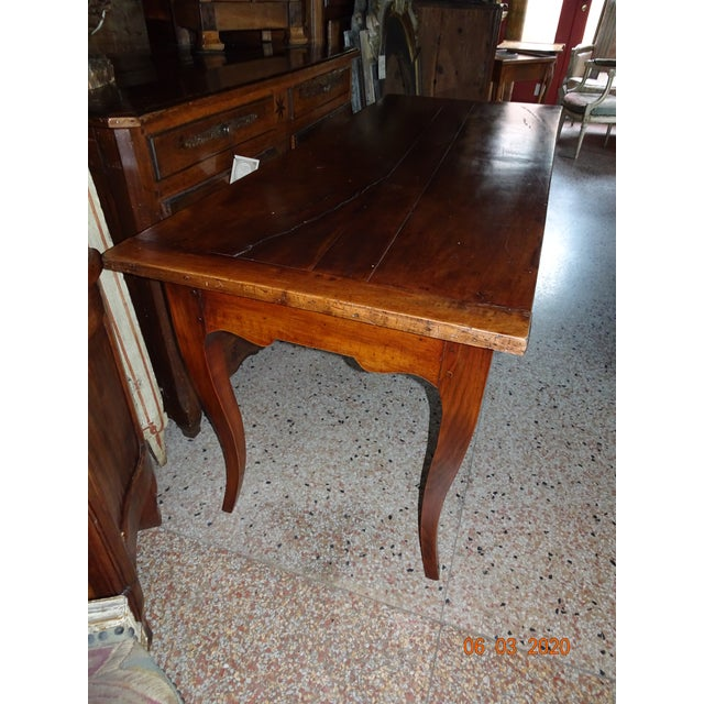 19th Century French Farm Table For Sale - Image 4 of 13