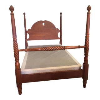Ethan Allen Country Crossings 4 Post Bed