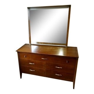 Drexel Profile Dresser With Mirror For Sale