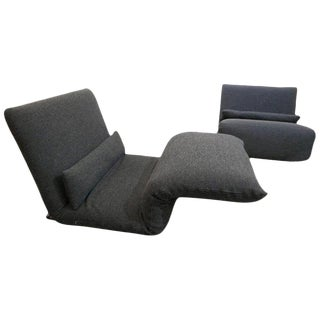 Pair of Tattomi Armchairs by Ingo Maurer & Jan Armgardt for Depadova For Sale