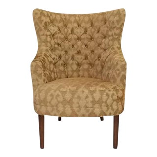 Antique O.Henry House English Wingback Chair For Sale