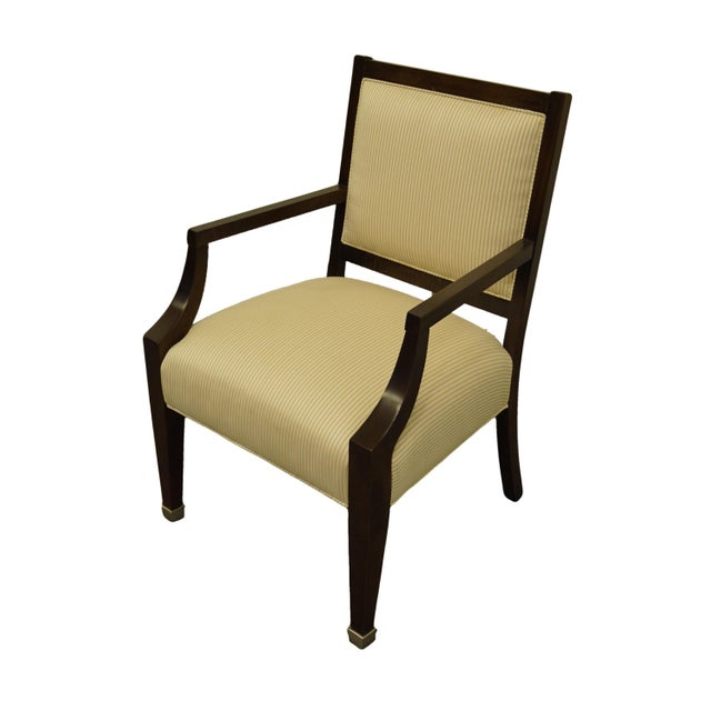 "LEXINGTON FURNITURE Nautica Home Collection Upholstered Accent Arm Chair 37.25"" High 25"" Wide 25"" Deep Seat: 20"" High..."