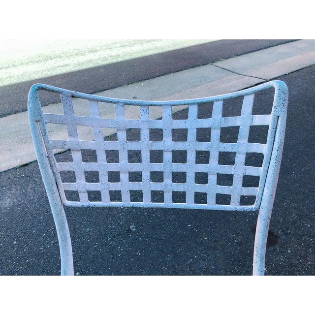 Dan Johnson Brown Jordan Sol Y Luna Patio Chairs - Set of 4 For Sale - Image 10 of 12