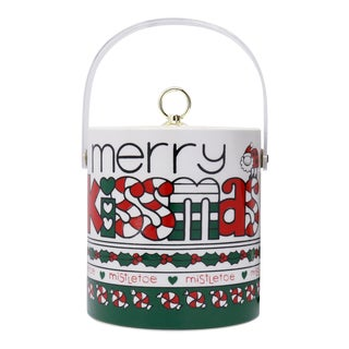 """Merry Kissmas"" Ice Bucket For Sale"