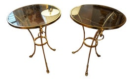 Image of Brass Gueridon Tables