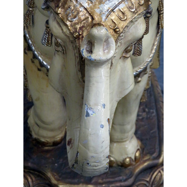 Indian Elephant Center Table For Sale - Image 10 of 11