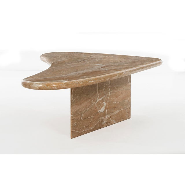 Stone Milo Baughman Marble Coffee Table For Sale - Image 7 of 12