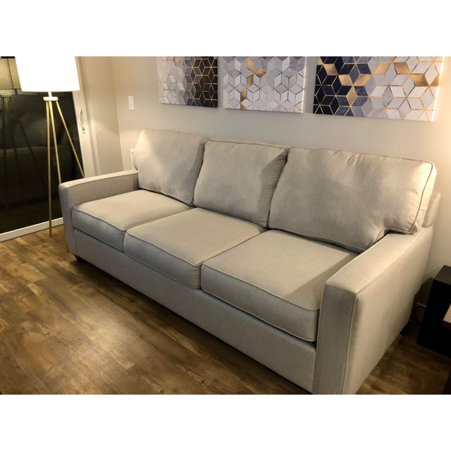 Modern Pottery Barn Buchanan Sofa For Sale - Image 3 of 7