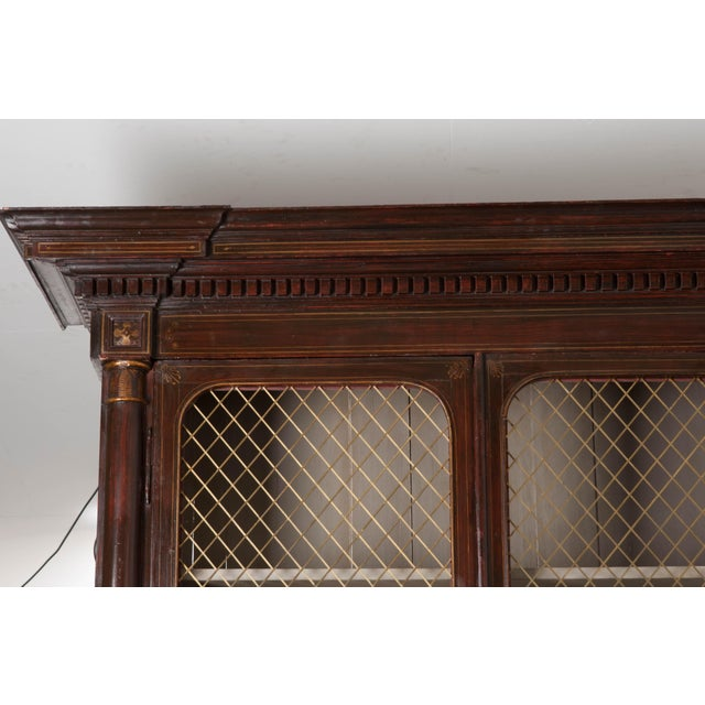 19th Century English Regency Library Bookcases - a Pair For Sale - Image 9 of 13