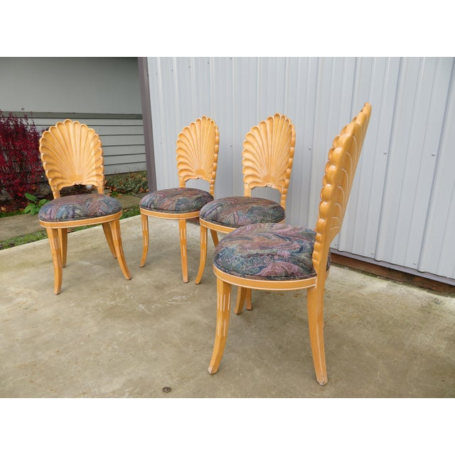 20th Century Vintage Italian Grotto Dining Table - 5 Pieces For Sale In Seattle - Image 6 of 12
