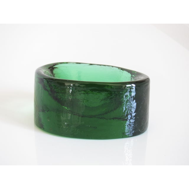 V. Nason & C. Emerald Murano Glass Paper Weight - Image 2 of 5