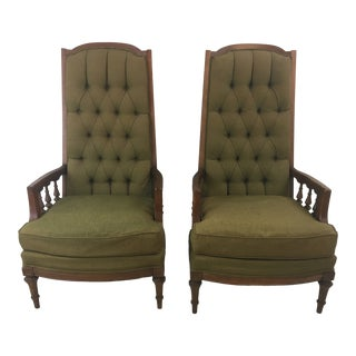 Vintage Broyhill Chairs - a Pair For Sale