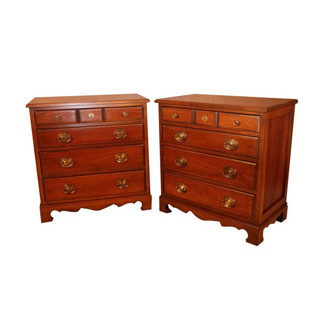 Pair American Permacraft Bachelor's Chests For Sale - Image 9 of 12